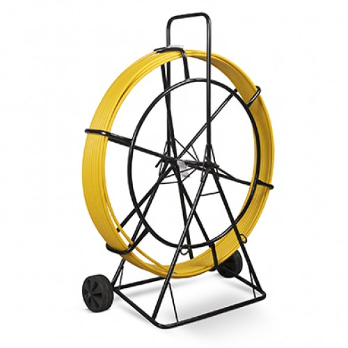 Cabeus Pull-T-11-150m Устройство для протяжки кабеля УЗК на тележке, 150м (диаметр стеклопрутка 11 мм)