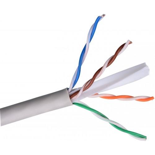 ITK Витая пара U/UTP кат.6 4х2х23AWG PVC серый (305м)