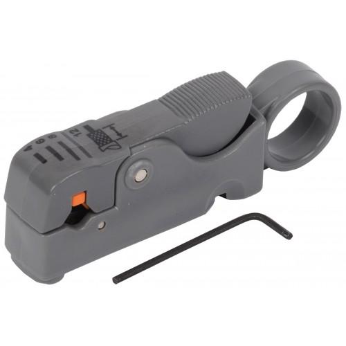 ITK Инструмент для зачистки и обрезки коаксиал. кабеля