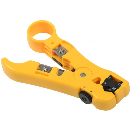 ITK Инструмент для зачистки и обрезки кабеля универсальный