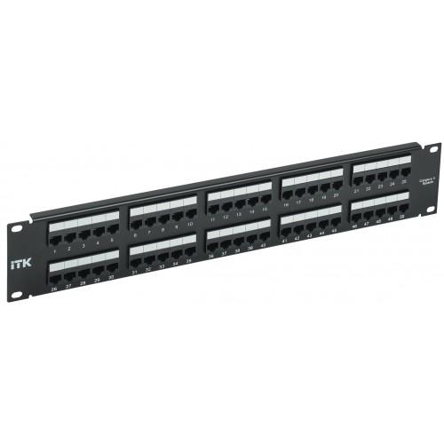 ///ITK 2U телефонная патч-панель кат.3 50 портов 110 IDC
