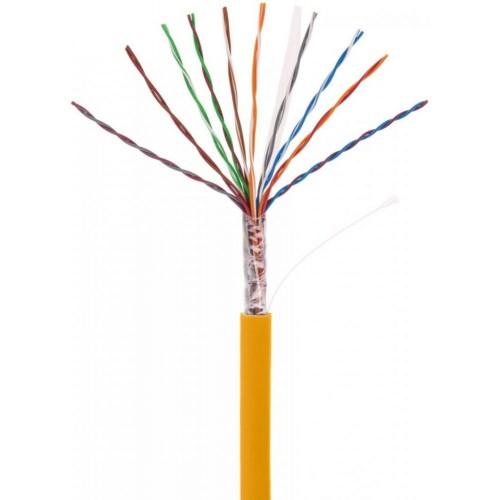 Кабель NETLAN U/UTP 16 пар, Кат.5 (Класс D), 100МГц, одножильный, BC (чистая медь), внутренний, LSZH нг(B)-HF, оранжевый, 305м