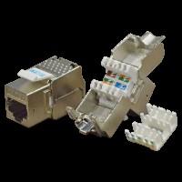 Модуль Keystone RJ45, Cat.5E, STP, 180 градусов