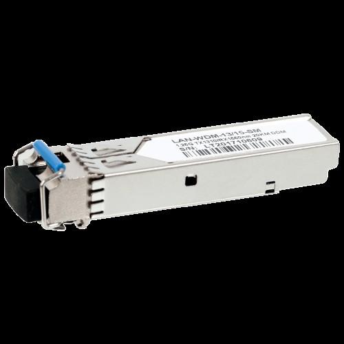 Модуль SFP WDM 1.25G, 1310nm / 1550nm, 20 km, LC, промышленный, DDM, Cisco