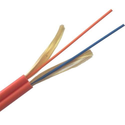 ВО кабель Lanmaster одномодовый внутренний ZIP cord LSZH 2 волокна G657 LAN-OFC-ZI2-S7-LS