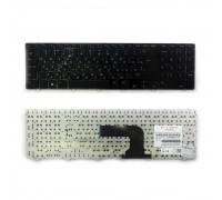 Клавиатура для ноутбука Dell Inspiron 17, 3721, 5737, 5721, 3737 Series. Г-образный Enter. Черная, с черной рамкой. PN: V119725BS1.