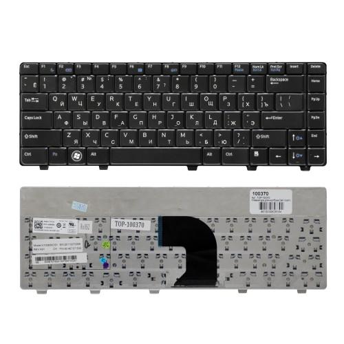 Клавиатура для ноутбука Dell Vostro 3300, 3400, 3500 Series. Плоский Enter. Черная, без рамки. PN: NSK-DH30R, 9J.N1K82.30R.