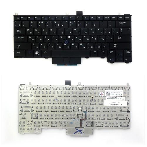 Клавиатура для ноутбука Dell Latitude E4310 Series. Плоский Enter. Черная, без рамки. PN: NSK-DS0UC, PK130AW2A06.