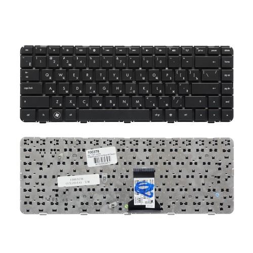 Клавиатура для ноутбука HP Pavilion DM4-1000, DV5-2000 Series. Плоский Enter. Черная, без рамки. PN: NSK-HT0UV.