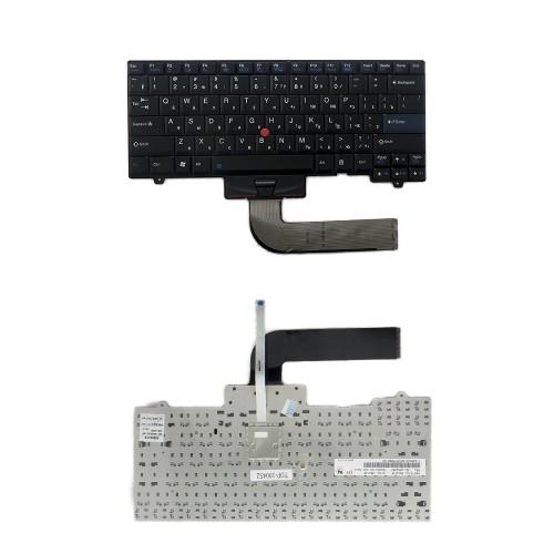 Клавиатура для ноутбука Lenovo IBM ThinkPad SL410, SL510, L420, L410, L510 Series. Плоский Enter. Черная, без рамки. PN: 45N2271.