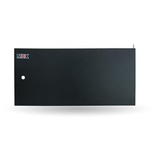 Дверь металическая, 9U, ширина 600 мм, MDX-DR-9U-M