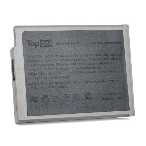 Аккумулятор для ноутбука Dell Inspiron 1100, 1150, 5100,  5150, 5160, Latitude 100L Series. 14.8V 4400mAh 65Wh. PN: BATDW00L, 8Y849. Серый.
