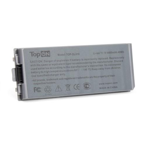 Аккумулятор для ноутбука Dell Latitude D810, Precision M70 Series. 11.1V 4400mAh 49Wh. PN: C5331, F5608. Серый.