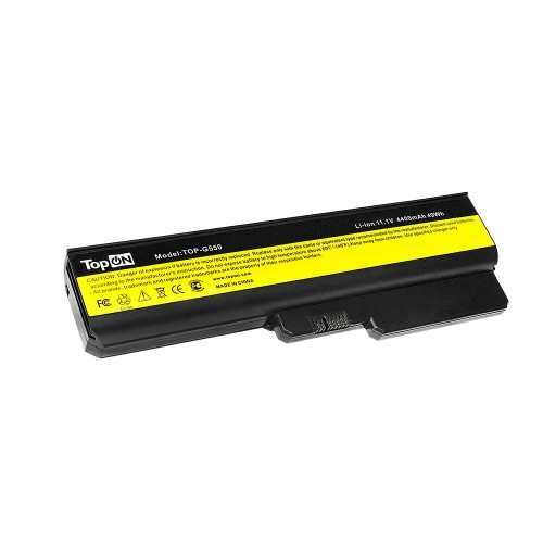 Аккумулятор для ноутбука Lenovo IdeaPad B460, G430, G450, G530, G550, N500, V460, Z360 Series. 11.1V 4400mAh 49Wh. PN: L08S6Y02, 51J0226.