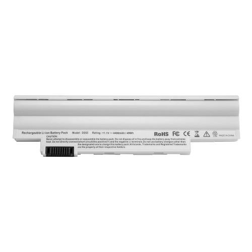 Аккумулятор для ноутбука Acer eMachines eM355, Gateway LT23, Aspire One 522, Happy Series 11.1V 4400mAh PN: AL10A31, AL10B31 Белый