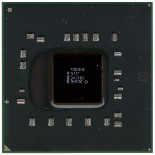 Северный мост Intel SLB97, AC82PM45 (2007)