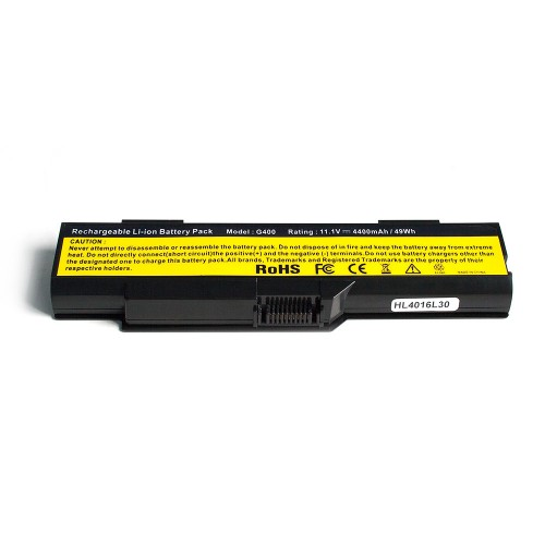 Аккумулятор для ноутбука Lenovo G400, G410, C510, C460, 3000 Series. 11.1V 4400mAh PN: BAHL00L6S, 121000630