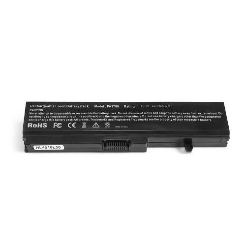 Аккумулятор для ноутбука Toshiba Portege T110, T131, Satellite T110, T115, T130, Pro T110, T130 Series. 11.1V 4400mAh PN: PA3780U-1BRS, PABAS215