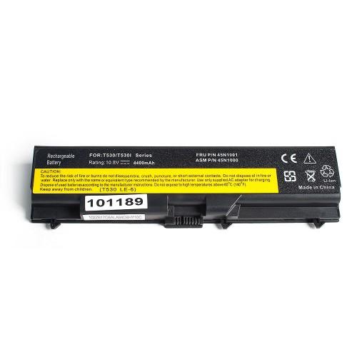 Аккумулятор для ноутбука Lenovo T410, T420, W510, W520 Series. 11.1V 4400mAh PN: 42T4235, 42T4702