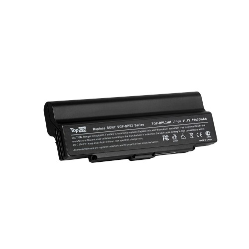Аккумулятор для ноутбука Sony Vaio VGN-AR, VGN-C, VGN-FE, VGN-N, VGN-S, VGN-Y Series. 11.1V 10400mAh 115Wh, усиленный. PN: VGP-BPL2, VGP-BPS2