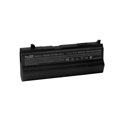 Аккумулятор для ноутбука Toshiba Satellite A80, M100, Tecra A5, A6, A7, S2, Dynabook AX Series. 10.8V 8800mAh 95Wh, усиленный. PN: PABAS057, PA3399U