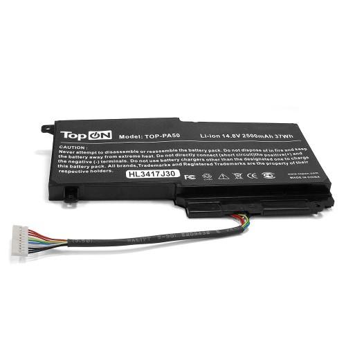 Аккумулятор для ноутбука Toshiba Satellite L45, L50, P50, P55, S50 Series. 14.4V 2500mAh 37Wh. PN: CS-TOL550NB, PA5107U-1BRS.