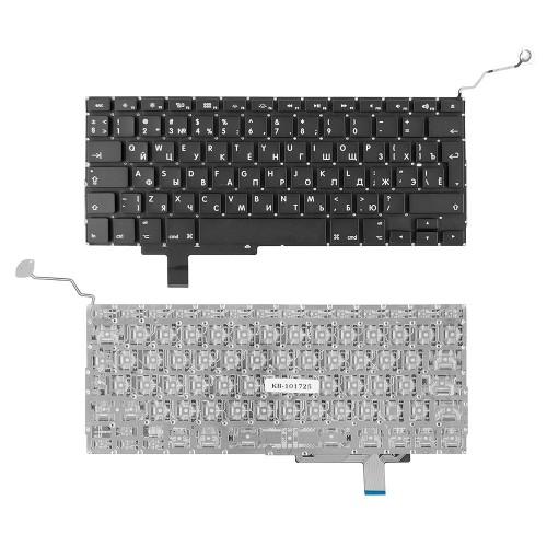 Клавиатура для ноутбука Apple Macbook Air A1297 Series. Г-образный Enter. Черная, без рамки. PN: A1297.
