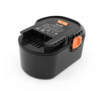 Аккумулятор для AEG BBM. 14.4V 3.0Ah (Ni-Mh) PN: B1414G.