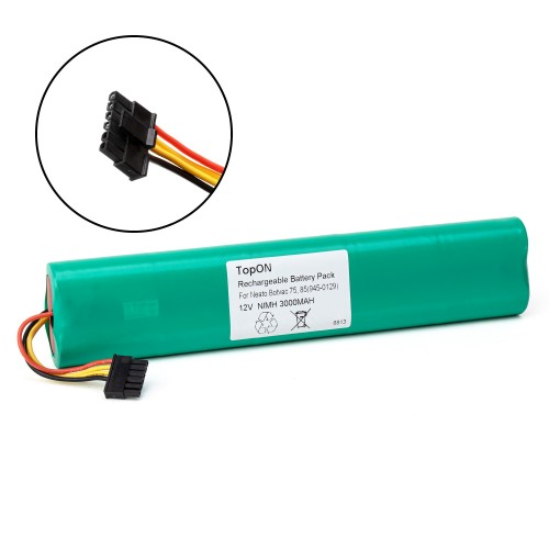 Аккумулятор для робота-пылесоса Neato Botvac 70e, 75, 80, 85. 12V 3000mAh Ni-MH. PN: 945-0129.