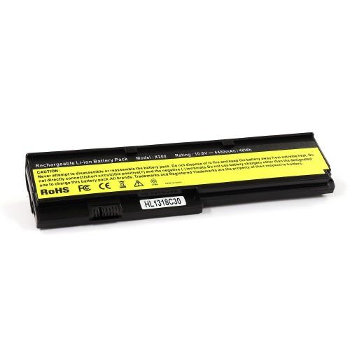 Аккумулятор для ноутбука Lenovo ThinkPad X200, X201 Series. 10.8V 4400mAh. PN: 42T4534, 42T4535.