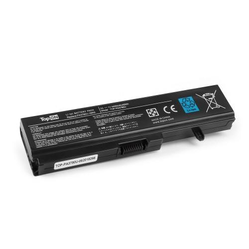 Аккумулятор для ноутбука Toshiba Satellite T111, T115, T135, Pro T110, Portege T132 Series. 11.1V 4400mAh 49Wh. PN: PA3780U-1BRS, PABAS116, PABAS21.