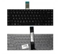 Клавиатура для ноутбука Asus G46, G46V, G46VW Series. Плоский Enter. Черная, без рамки. PN: 0KN0-MF1US23.