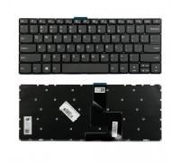 Клавиатура для ноутбука Lenovo IdeaPad 520S-14IKB Series. Плоский enter. Черная, без рамки. PN: SN20M61837