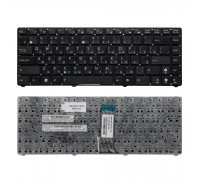 Клавиатура для ноутбука Asus U20, UL20, Eee PC 1201, 1215, 1215B Series. Плоский Enter. Черная. Без рамки. PN: 9J.N2K82.90R.