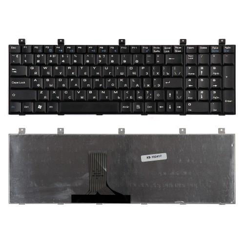 Клавиатура для ноутбука Toshiba Satellite P100, M60 Series. Плоский Enter. Черная, без рамки. PN: MP-07A56CU-442, AEBD10I7015-RU, AEBD10IU011-US