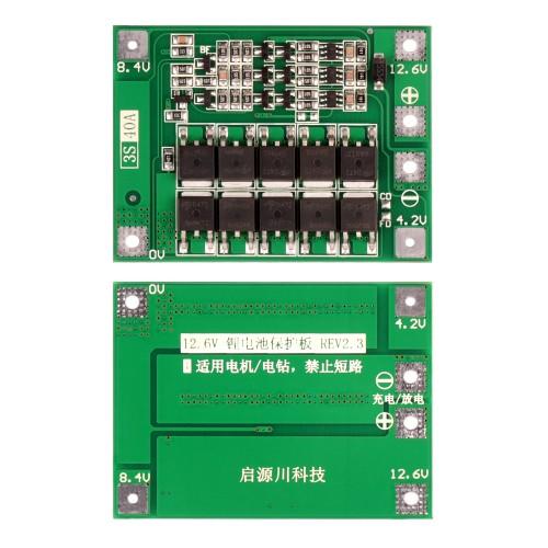 BMS-контроллер 3S/40A для Li-Ion ячеек 3.7V 18650, 26650.