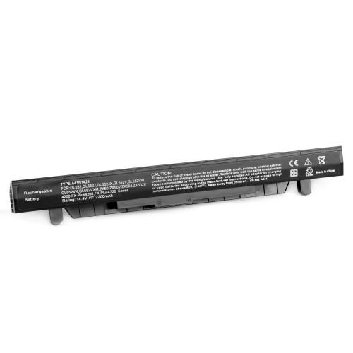 Аккумулятор для ноутбука Asus GL552. (14.4V 2200mAh) P/N: A41N1424