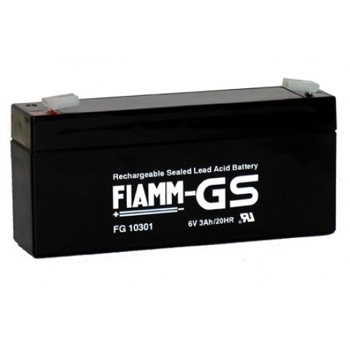 Аккумуляторная батарея FG 10301 (6В 3Ач)