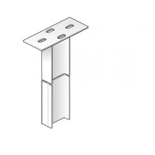 Профиль потолочный (макс., нагрузка 1100кг), 80х200мм, L=2000мм (шт,)