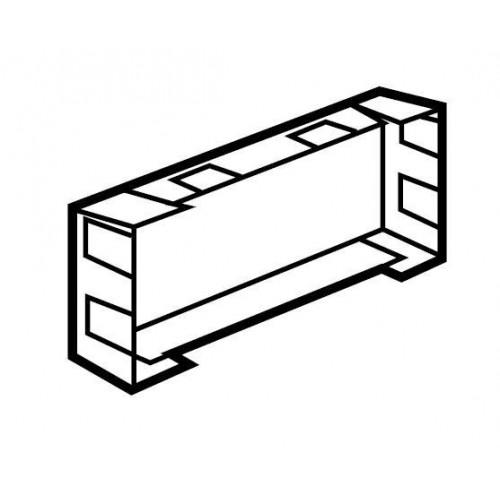 Изолирующая коробка для суппортов на 4 модуля в кабель-каналы DLP, Legrand