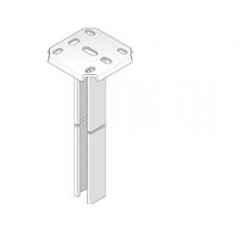 Профиль односторонний для крепления к потолку, L=300 мм, нерж., сталь  (шт.)