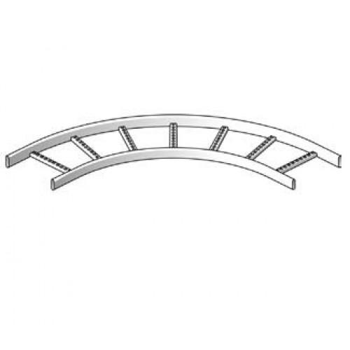 Угол горизонтальный 90гр,,  для каблеростов KS 200мм  (шт,)