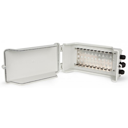Коробка распределительная наружная на 10 плинтов (100 пар), TWT-DB10-10P/OUT