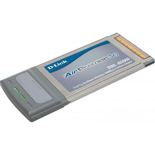 DWL-AG660 Адаптер беспроводной CardBus 802.11abg