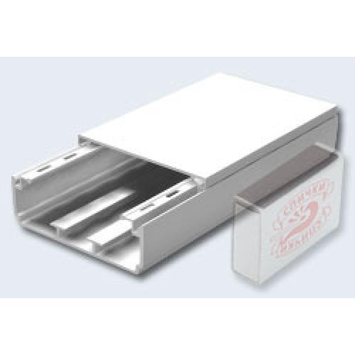 Кабель-канал 90х40 мм, белый, KIB40-90
