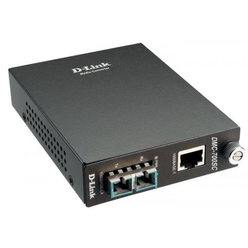 Конвертер 1000Base-T to 1000Base-SX Gigabit Fiber Multi-mode Fiber (550m, SC) Converter