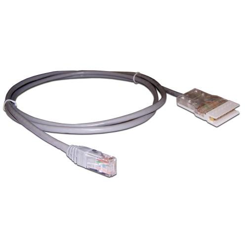 Патч-корд 110 тип - RJ45, 4 пары, UTP, 3 м, LANMASTER LAN-45-P4-3m
