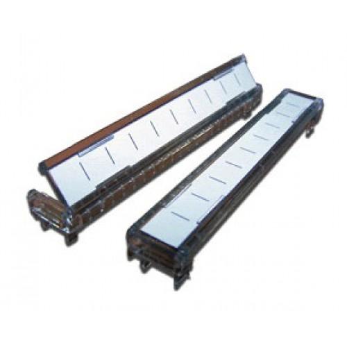 Откидная рамка для таблички, для плинтов 10 пар TWT-LSA10-LBL-O