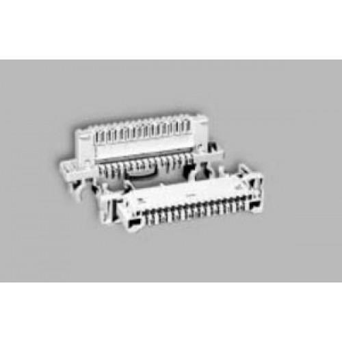 Плинт LSA-PROFIL NT 2/8x3 с нормально замкнутыми контактами