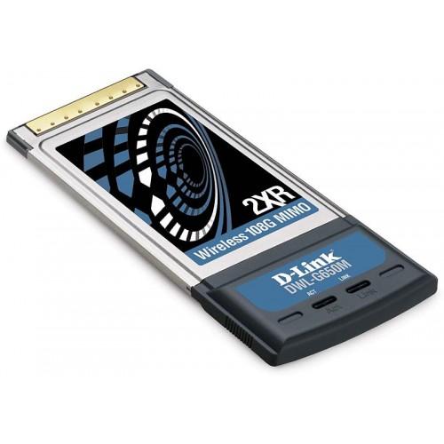 Адаптер беспроводной CardBus 802.11bg MIMO